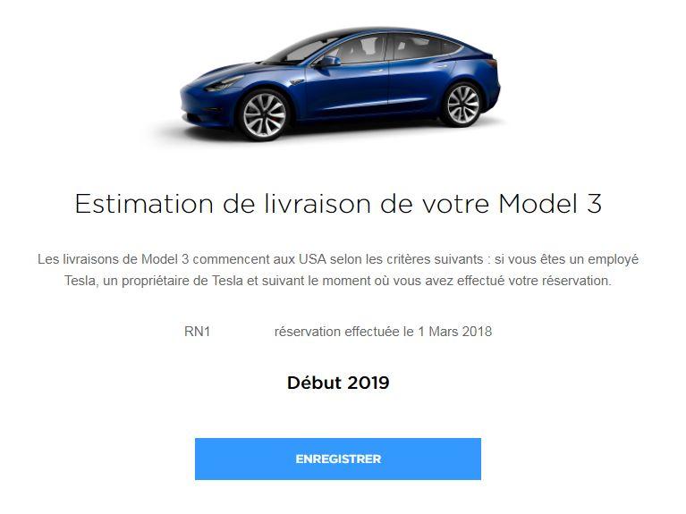 Estimation livraison model 3